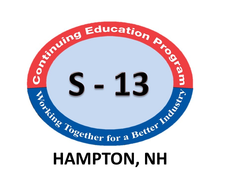 Session 13 LIVE CLASS - 01/15/2022 - The NH School of Mechanical Trades - 109 Towle Farm Road - Hampton, NH - 8:00 am Start Time