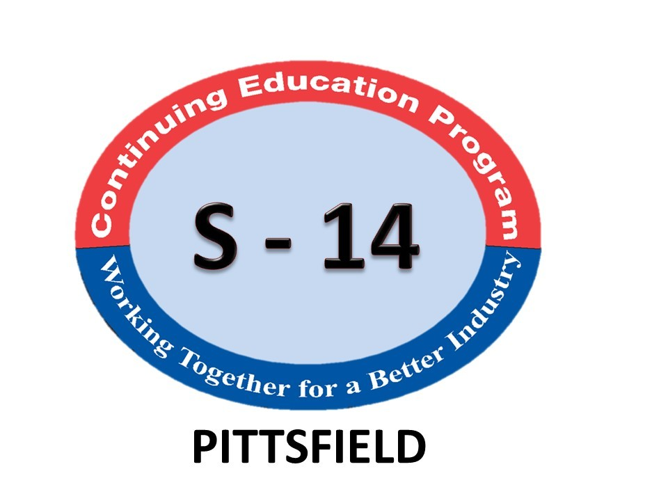 Session 14 LIVE CLASS - 02/05/2022 - Berkshire Community College - 1350 West St, Pittsfield MA - 8:00 am Start Time