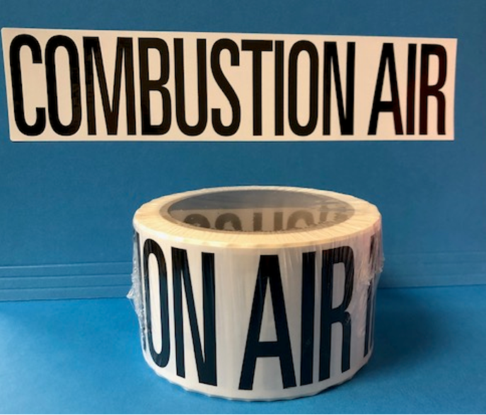 Combustion Labels - PHCC MEMBERS