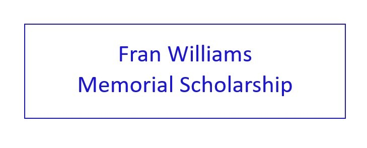Fran Williams Memorial Scholarship Charitable Donation