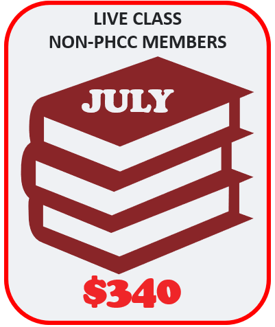LIVE Boot Camp for Non-Members - JULY 10th & 11th 2021 - BRAINTREE
