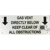 Gas Vent Sign - Member